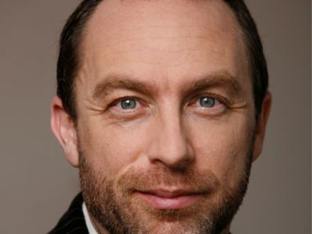 Jimmy Wales wikipedia.org  Manuel Archain, Buenos Aires cc-by-3.0 unported