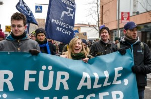 #LassLaufen Demonstration 2013