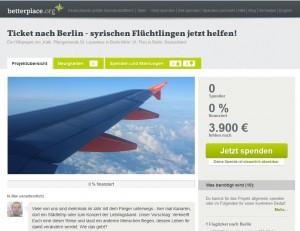 betterplace projektseite