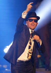 Donnerstag 04 12 2014 die 15 Einslive Krone Verleihung 2014 in Bochum Jan DELAY auf der Buehne De